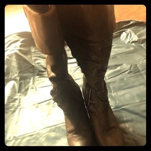 Charlotte Rouse Faux Leather Boots